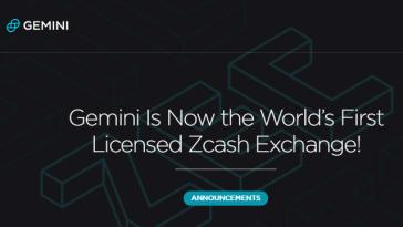 Gemini + Zcash