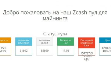майнинг Zcash