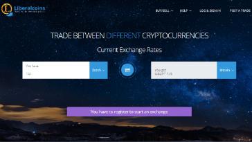 Обмен Zcash на Liberalcoins